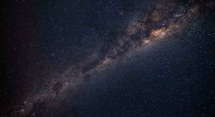 Aufnahme der Milchstraße